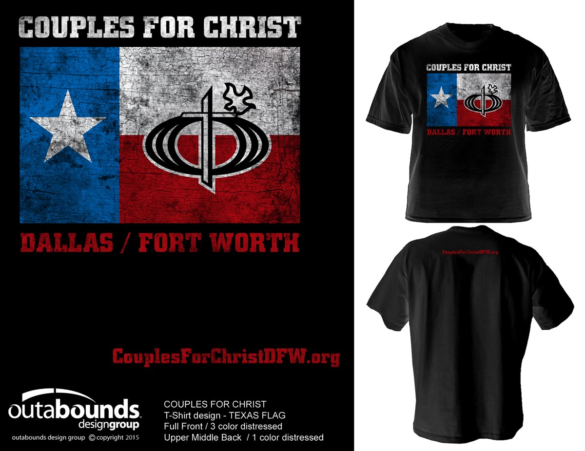 couples For christ dallas fort worth tshirt